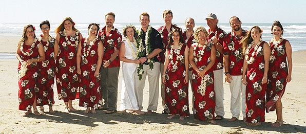 Hawaiian Wedding Renewal Dress